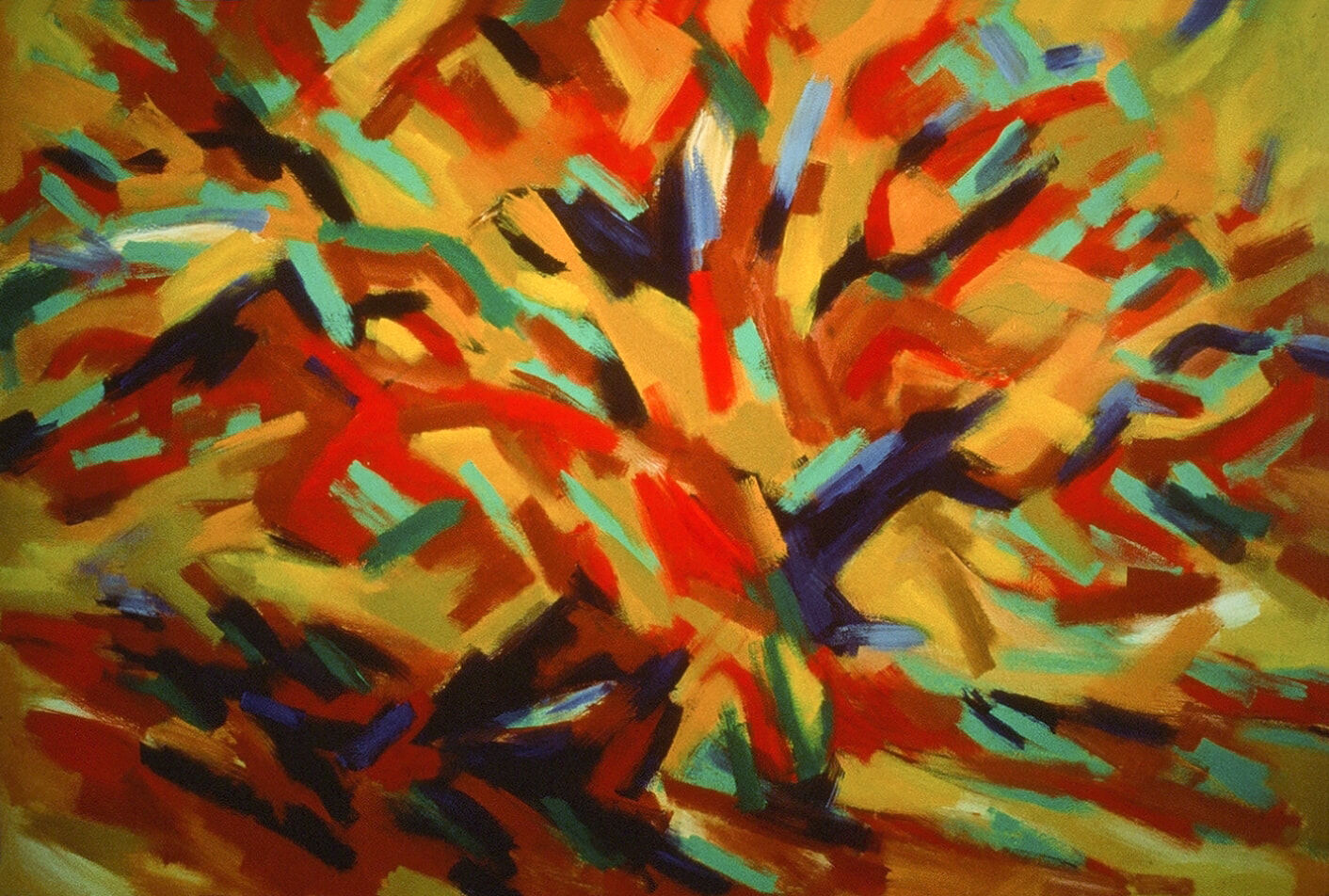 Forest Fragment: 'French Oak Tree Reminder'