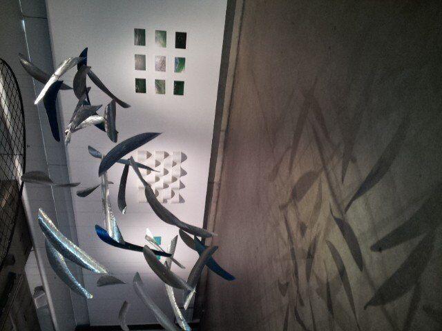 Sound Water Waves, installation SASA Gallery