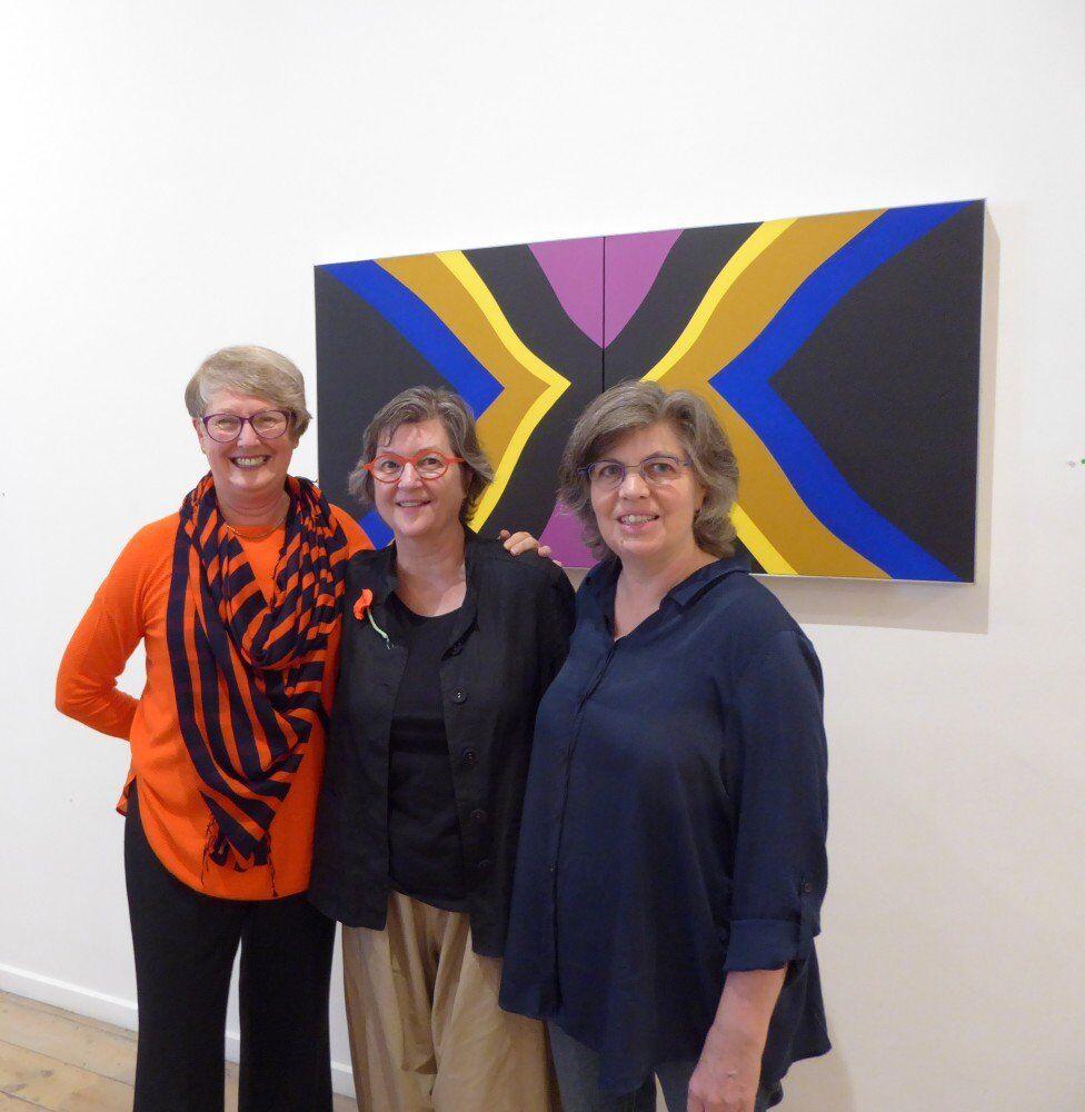 'Margaret Worth' Charles Nodrum Gallery Victoria, 3 amigos