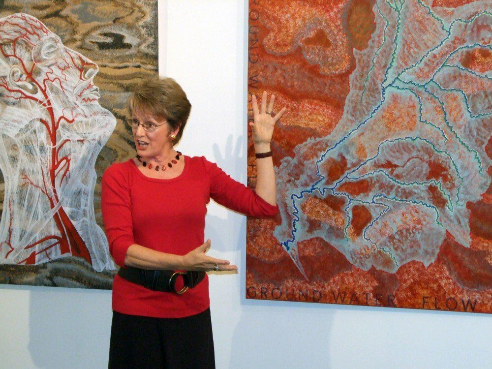 In the Top Paddock:  Artist talk,  Mt. Gambier +Touring South Australia, Country Arts