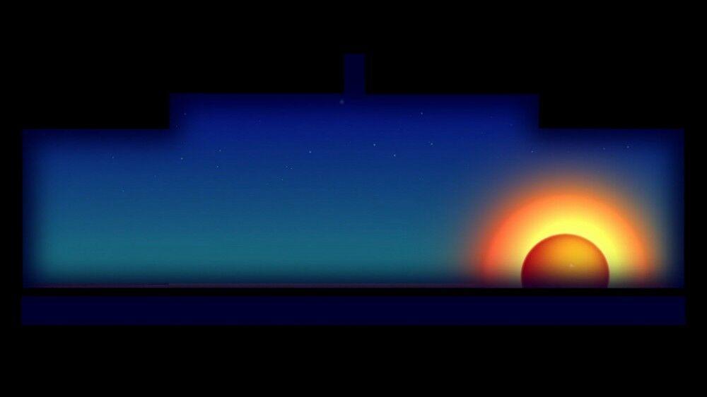 The Ripple Effect: Sun Rise