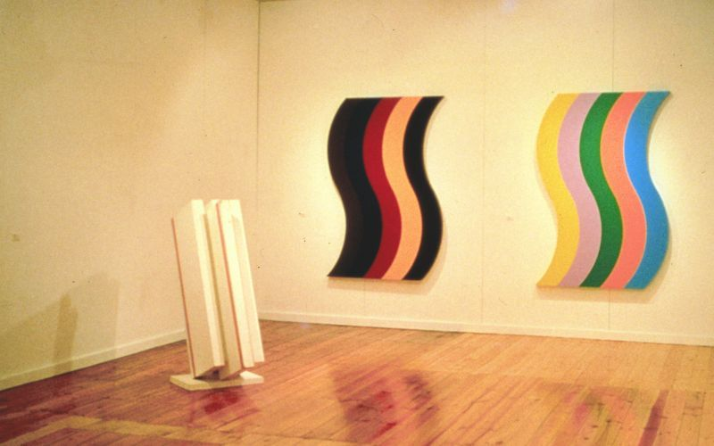 Colour Forms: Installation Bonython Galleries Sydney