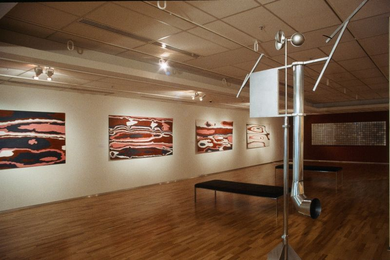 Land Marks: Installation Flinders University Art Museum, Adelaide SA