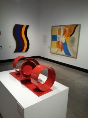 'Abstraction' National Gallery Touring Exhibition. Curator Lara Nicholls