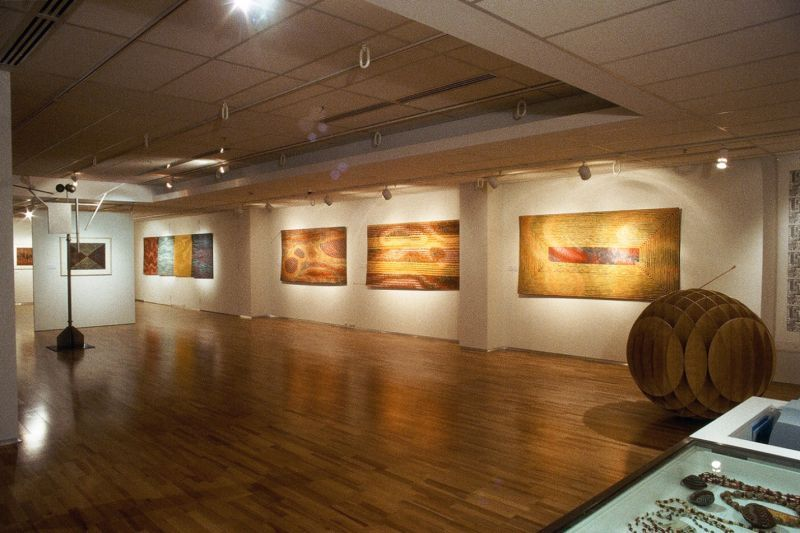Land Marks: Flinderrs University Art Museum City Gallery instln.