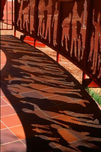 Swallowcliffe Schools: shadow play