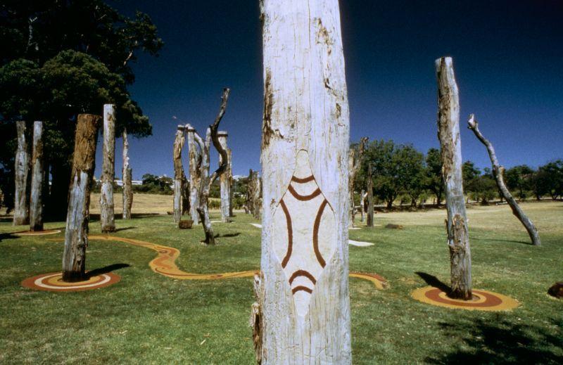 Tjirbruke Gateway: The Kaurna shield, symbol of territory