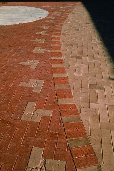 Swallowcliffe Schools: Paving design.