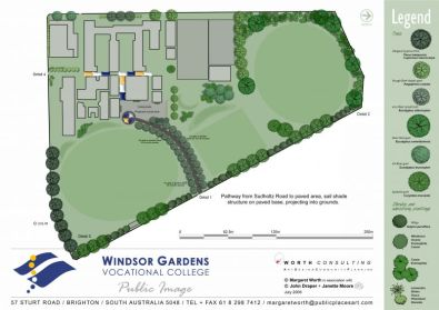 Learning Pathways: Landscape Plan