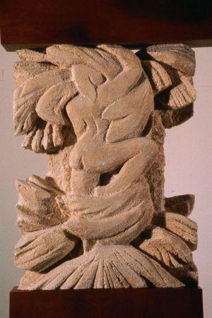 Dtail Forest Fragment:  Ogam Alphabet Piece