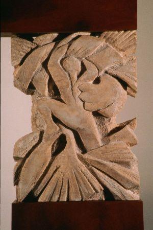 Detail Forest Fragment: Ogam Alphabet