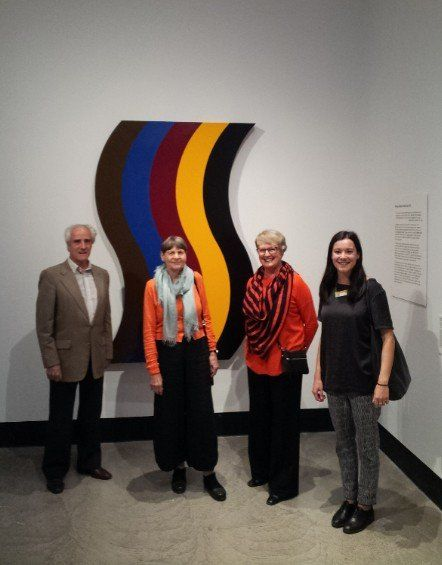 'Abstracion' NGA with Charles & Kate Nodrum & Virginia Coventry