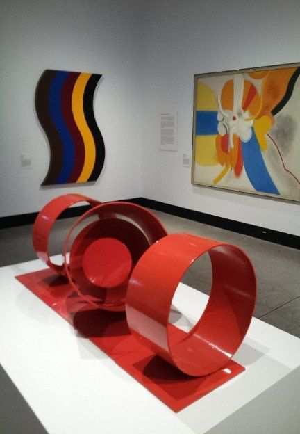'Abstracion' NGA Samsara 17 with works by Inge King and Janet Dawson