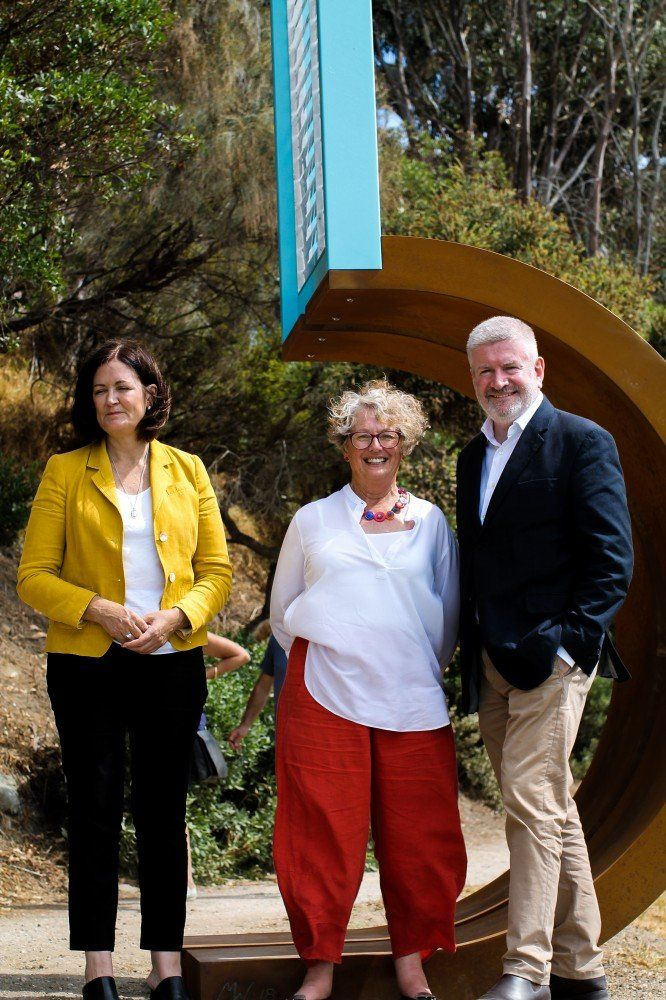 With Sen. Mitch Fifield & Sarah Henderson