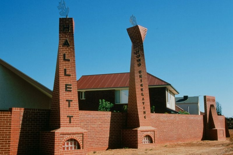 'Foundry Chimneys', Margaret Worth, artist.