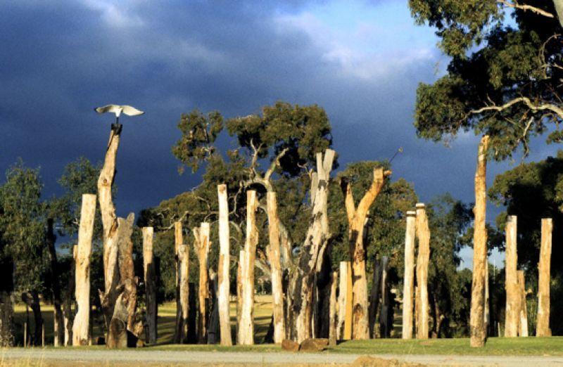 Tjirbruke Gateway: Installation view